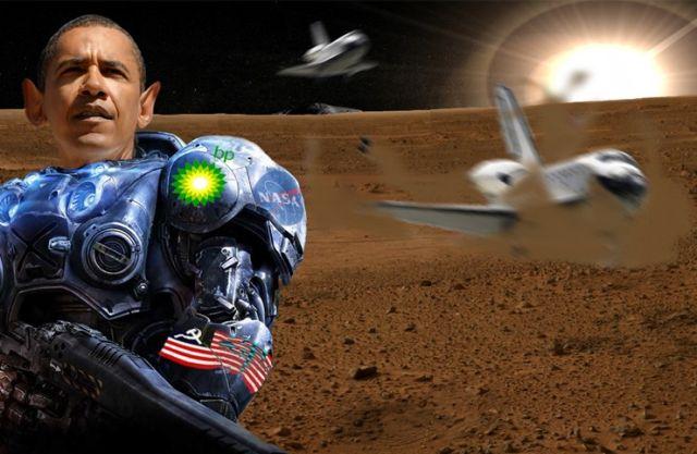 president obama on planet mars - photo #2
