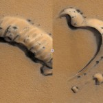 Spiders on Mars?  Strange Photographs of Martian Surface Inspire Intrigue
