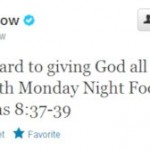 Tim Tebow Versus Satan — 666 Tweet Causing Uproar Ahead of Monday Night Football