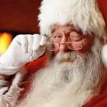 Is Santa winking because he knows something you don't?