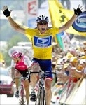 Lance Armstrong was an American icon after his Tour de France dominance.