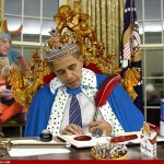 This photo is obviously a fake.  Everyone knows that President Obama uses the autopen to sign executive orders and important stuff like that.  Geez, guys...