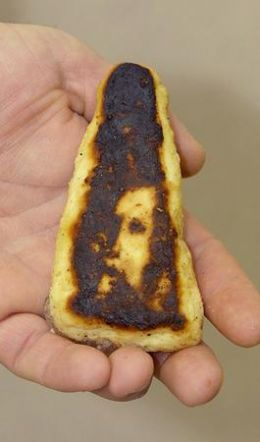Do you see Jesus in the burnt toast?  Would you have if I didn't ask the question?