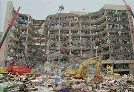 The same destructive power that caused the Texas explosion we saw before in the Oklahoma City bombing...April 19, 1995.