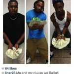 Alabama Football Player Posts Instagram Photo With Wads of Cash