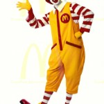 "Ronald says ""Where's the Medicaid line, kids?""  ""Oh SNAP!"""