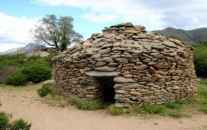 A real stone hut here on the third rock from the sun.