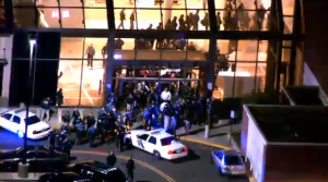 Chaos and confusion as a shooter unloads on a New Jersey mall.