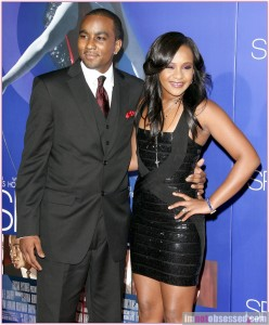 Bobbi Kristina Brown with boyfriend Nick Gordon in happier times.