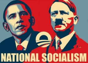 This is not the only way some people on the Internet compare President Obama to Adolf Hitler.