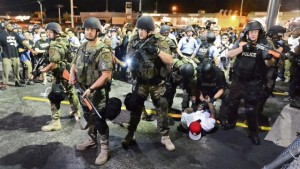 Stopping local police from getting riot gear is not designed to do anything but replace them with federal agents with riot gear.